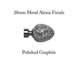 28mm Metal Alexia Finials