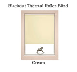 Blackout Thermal Roller Blinds