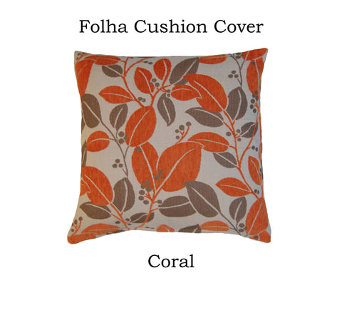 "18"" Folha Cushion Cover"
