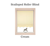 Scalloped Roller Blinds
