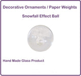 Hand Blown Glass Ornaments/Paperweights