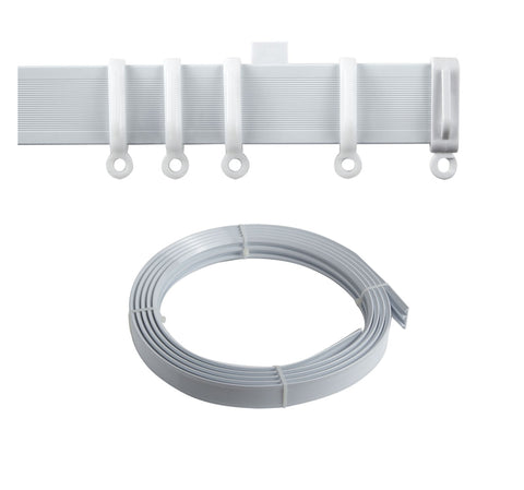 Complete Streamline Coiled PVC Curtain Tracks