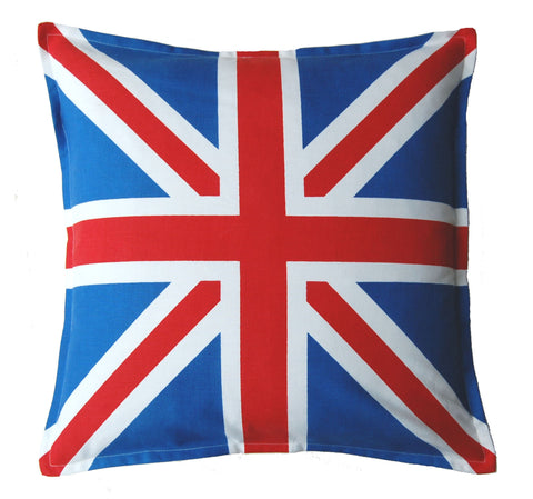 "18"" Union Jack Flag Cushion Cover"