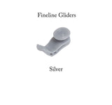 Fineline Curtain Track Gliders