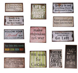 Vintage Style Humour Fridge Magnets