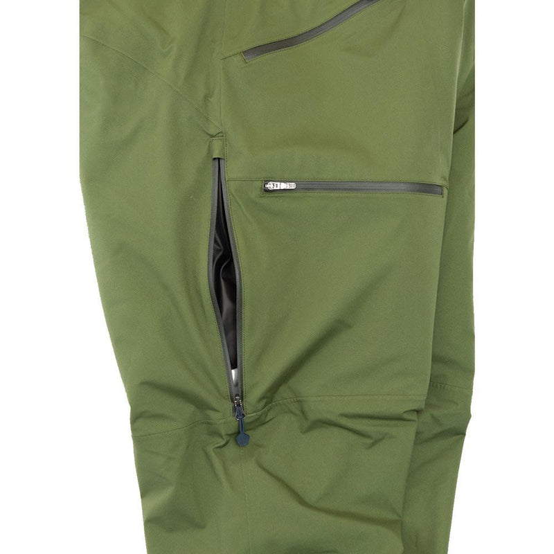 Beringia - Men's Ezo Insulated Pant - Thigh Vent and Pocket Detail