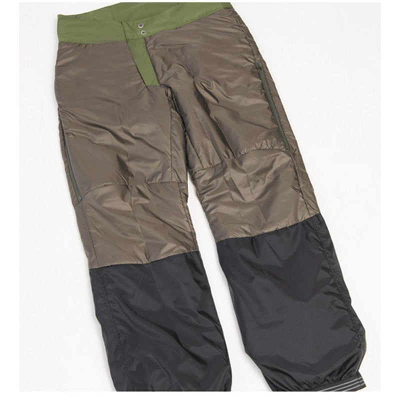 Beringia - Men's Ezo Insulated Pant - Inside of pant insulation down to the knee