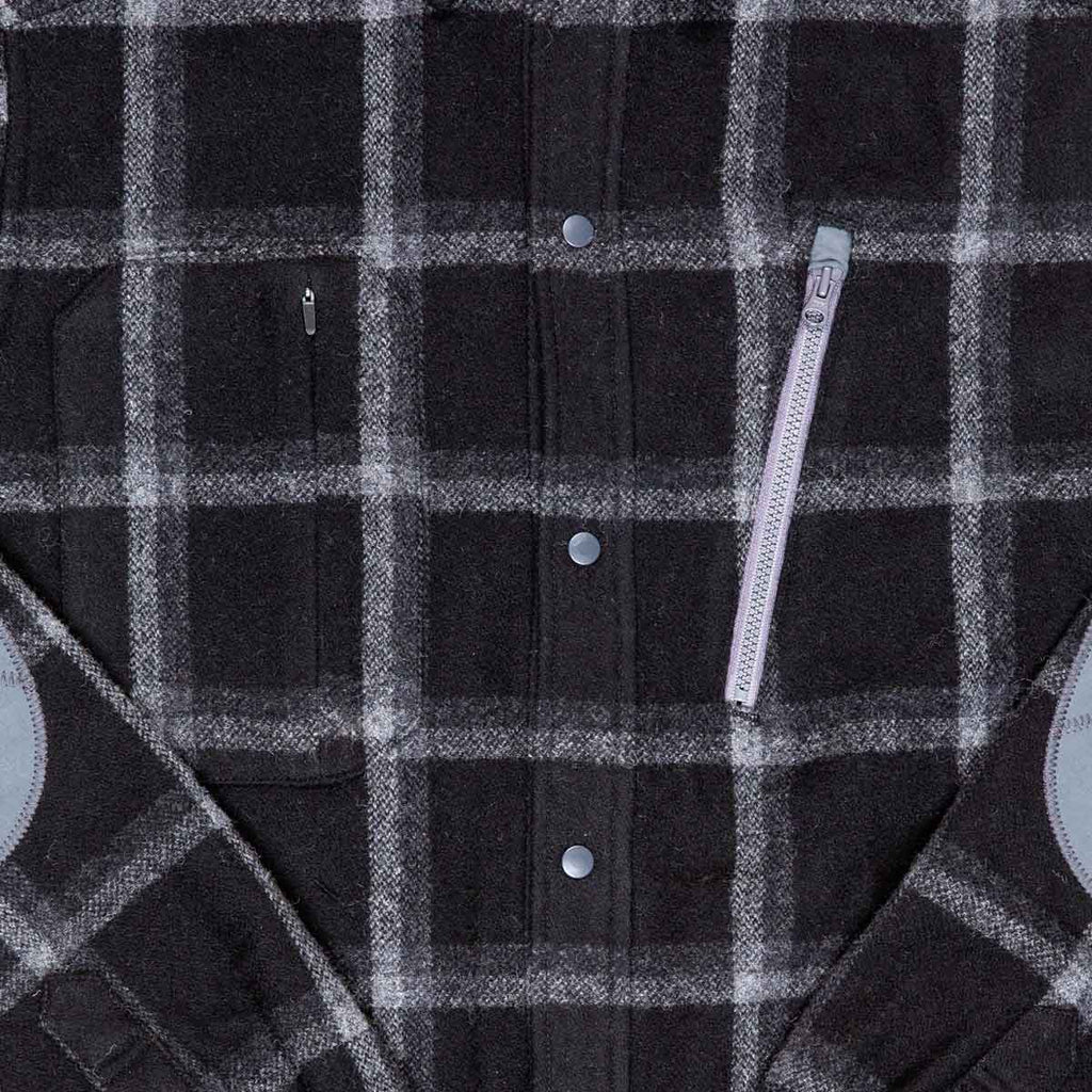 Men's Farallon Wool Plaid Shirt title=