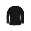 Beringia - Men's Diomede Merino Wool Long Sleeve Crew - Black