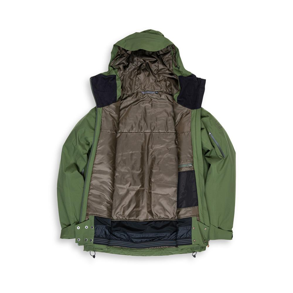 Beringia - Men's Ezo Insulated Jacket - Green inside title=