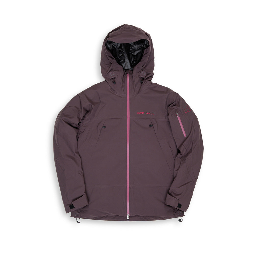 Beringia - Womens Ezo Insulated Jacket - Wine Red