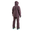 Beringia - Womens Ezo Insulated Jacket - Wine Red, fit outfit back