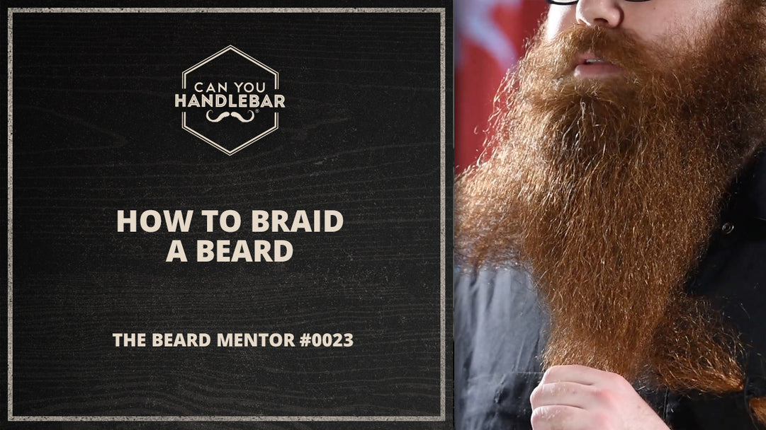 how to braid a beard