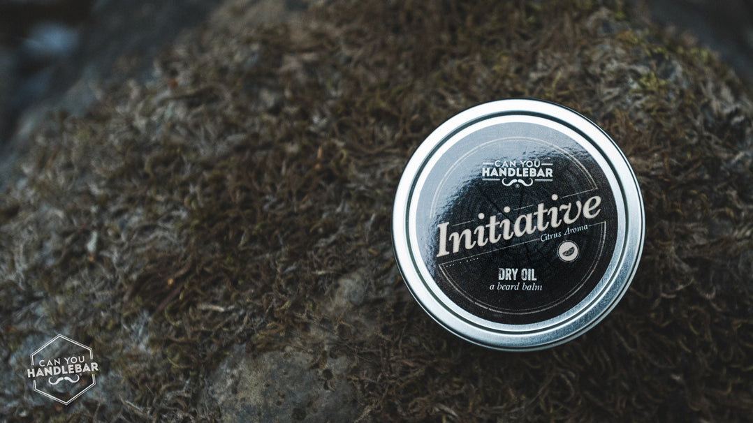 Initiative beard oil from Can You Handlebar