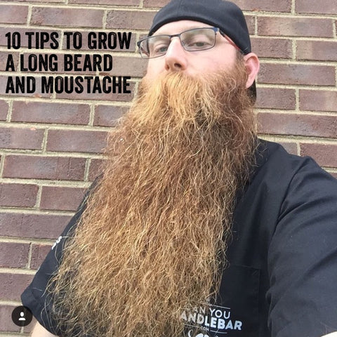 10 Tips To Grow A Long Beard And Moustache