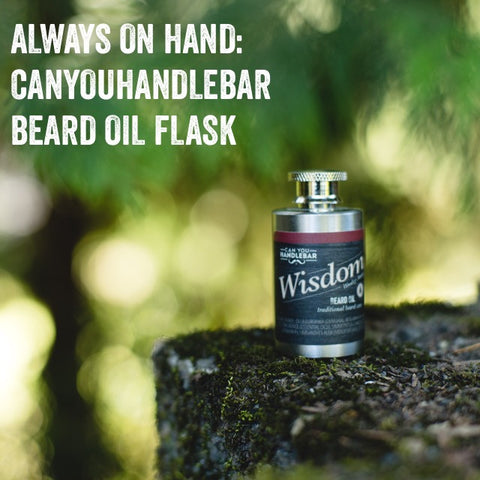 Always On Hand: CanYouHandlebar Beard Oil Flask