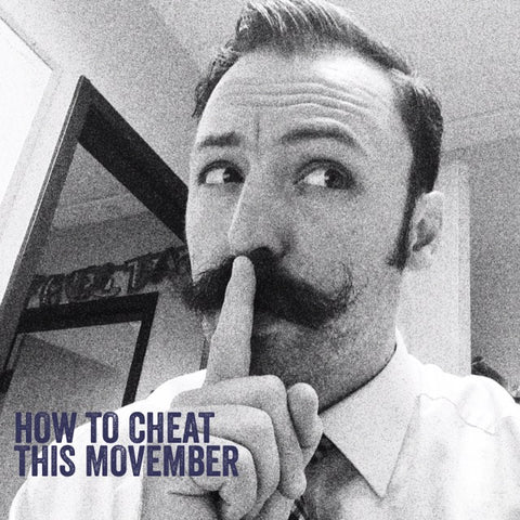 American Mustache Institute President Adam Causgrove How to Cheat this Movember