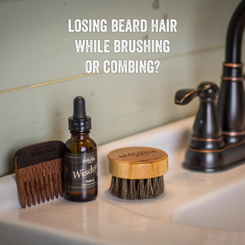 Losing Beard Hair While Brushing or Combing?