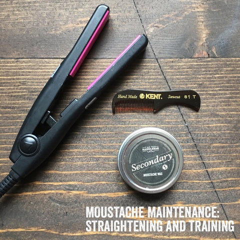 Moustache Maintenance: Straightening and Training