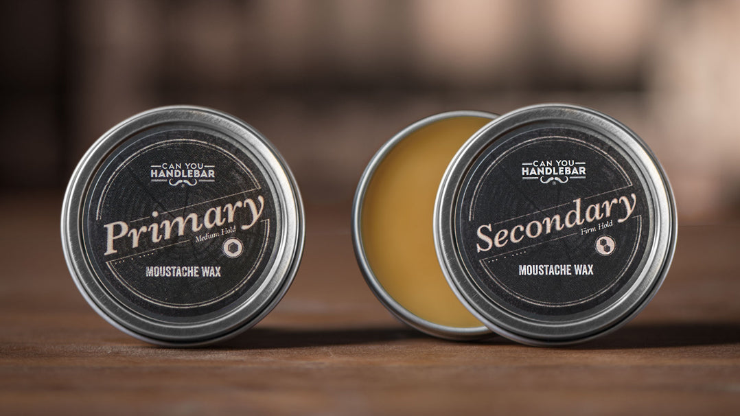 Primary and Secondary Moustache Waxes by Can You Handlebar