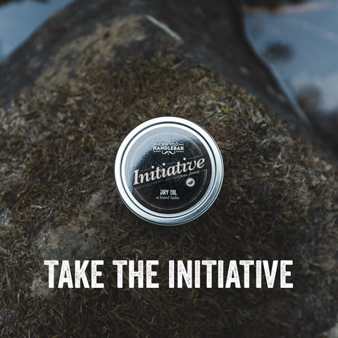 Take The Initiative CanYouHandlebar Initiative Beard Dry Oil balm