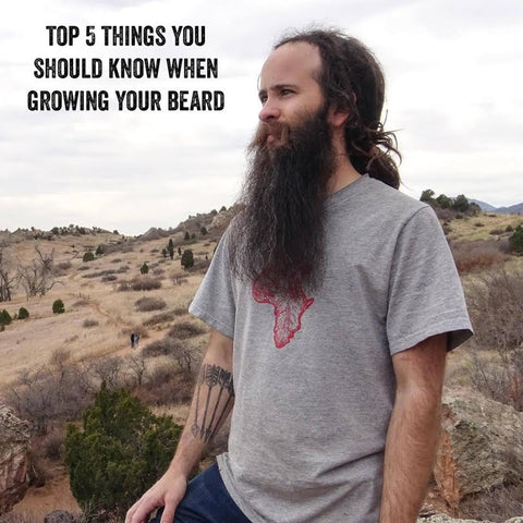 Top 5 Things You Should Know When Growing Your Beard