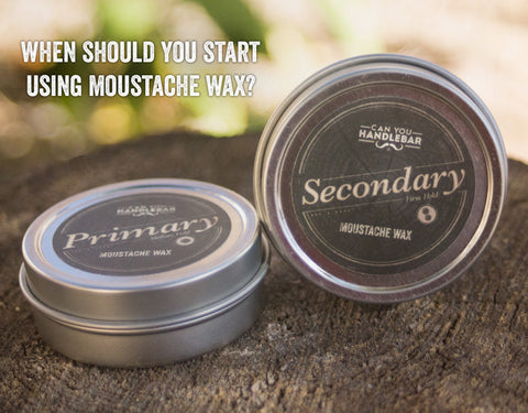 When Should You Start Using Moustache Wax?