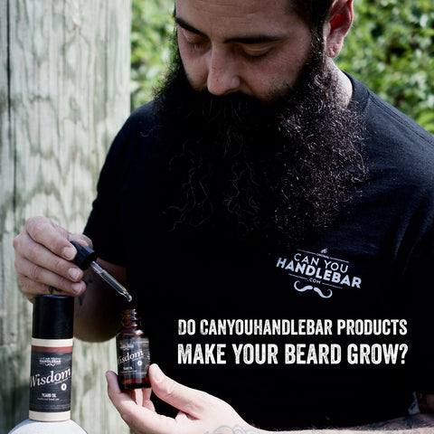 Do CanYouHandlebar products make your beard grow