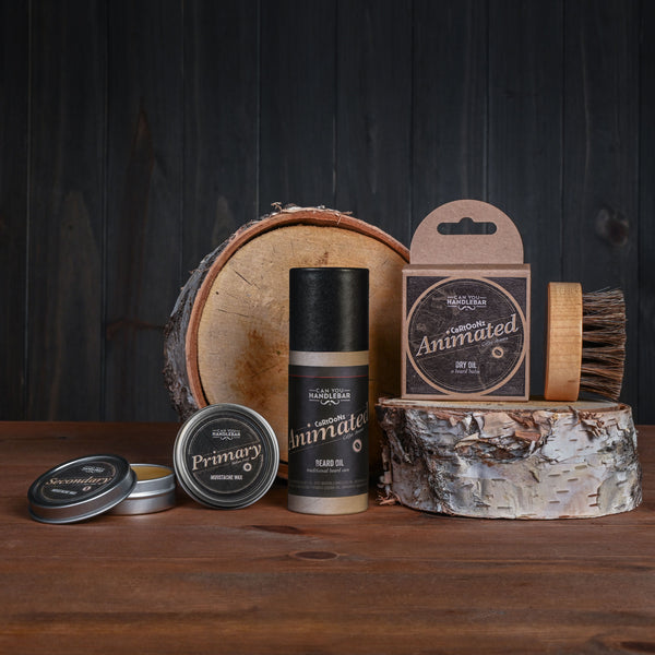 Animated - Advanced Kit - Beard Oil and Balm