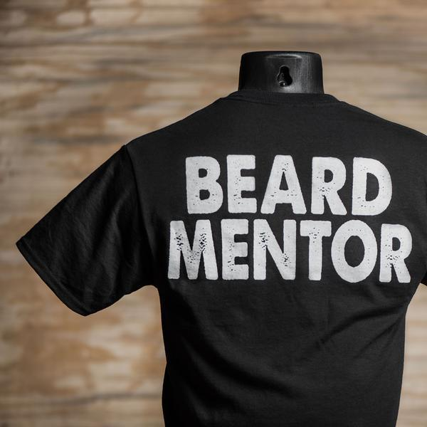 Beard Mentor T-Shirt Back