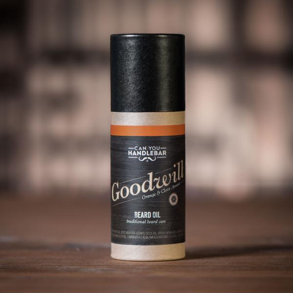 Goodwill Orange and Clove Beard Oil Tube