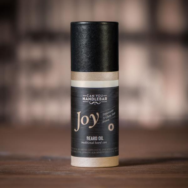Joy Peppermint and Clary Sage Beard Oil Tube