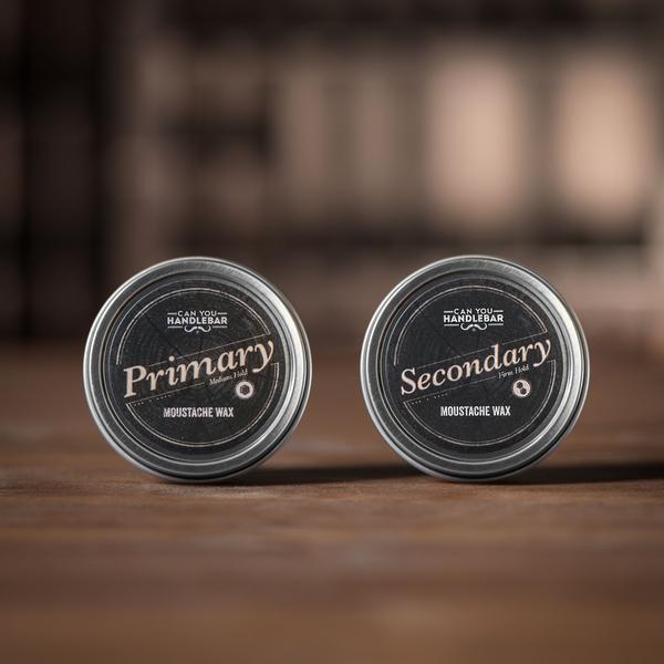 Moustache Wax Get A Pair, Primary And Secondary Closed
