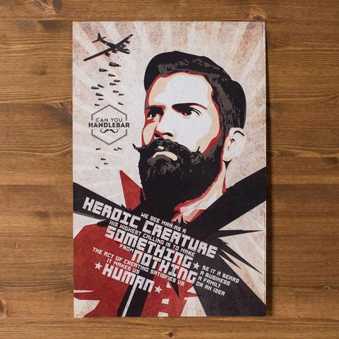 Can You Handlebar Philosophy Propaganda Poster