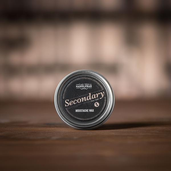 Secondary Extra Strength Moustache Wax Closed