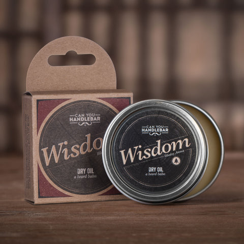Wisdom - Bright and Woodsy Beard Balm