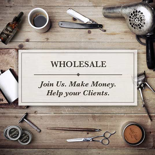 Wholesale. Join us, make money, and help your clients