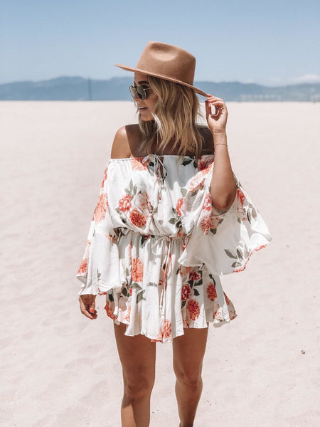 Style Me Love - 50 + Romantic Outfit Dresses To Look Gorgeous On Special Occasions Stylish White Off Shoulder Dress for a date