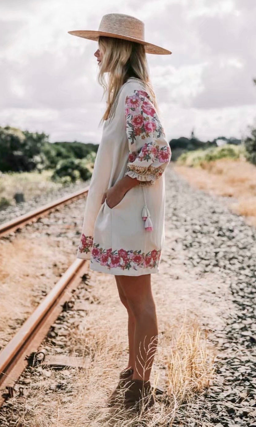 ibiza floral dress - Style Me Love