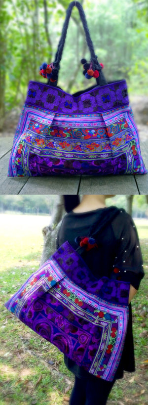 Bohemian Ethnic Shoulder Bag - Style Me Love