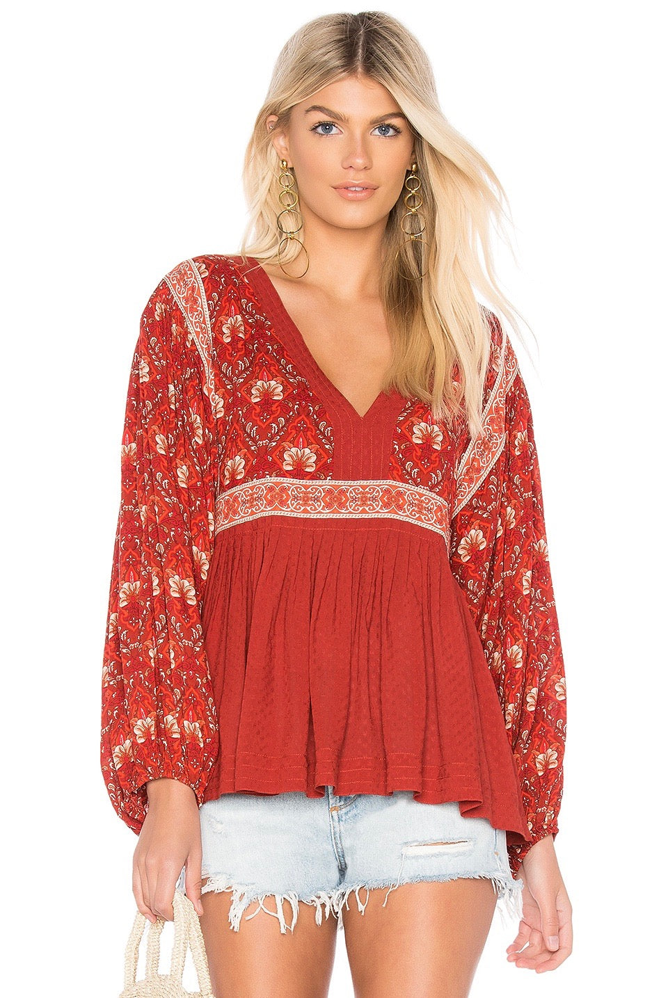 Amy Ethnic Blouse - Style Me Love