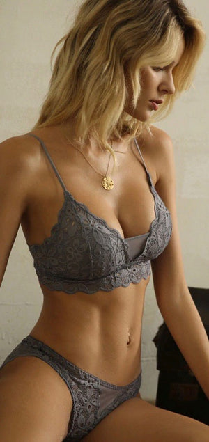 Demi Shielded Bra Set Lingerie - Style Me Love