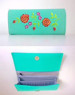 Modest In Spring Wallet - Style Me Love