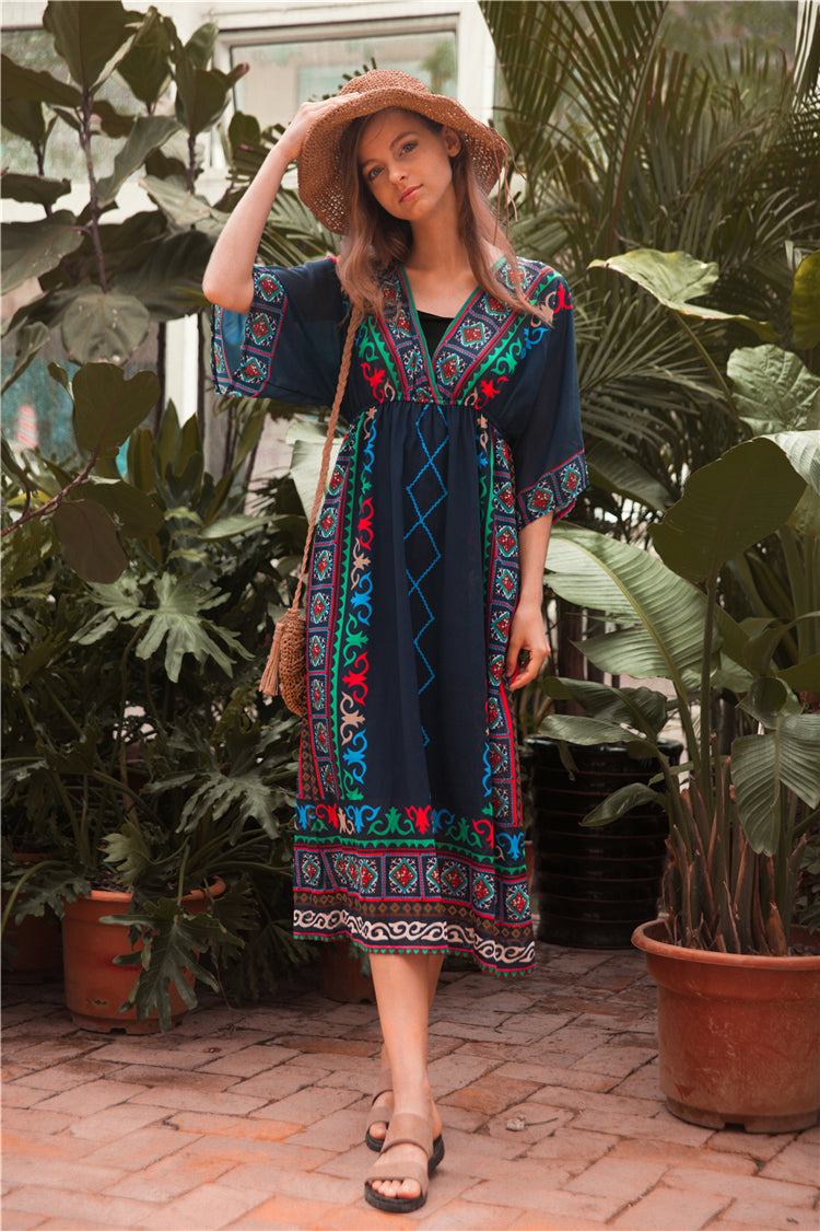 Nayo Ethnic Dress - Style Me Love
