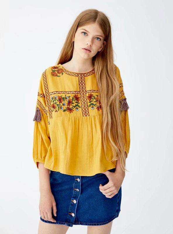 Petite Flowers Top - Style Me Love