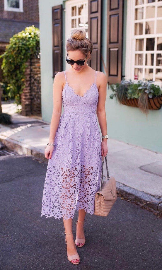 Anna Lace Dress - Style Me Love