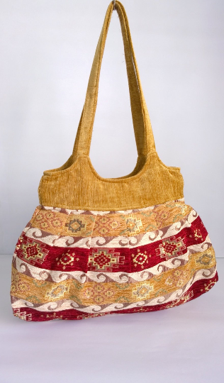 Boho Silk Shoulder Bag - Style Me Love