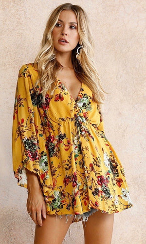 Bright Boho Tunic Dress - Style Me Love