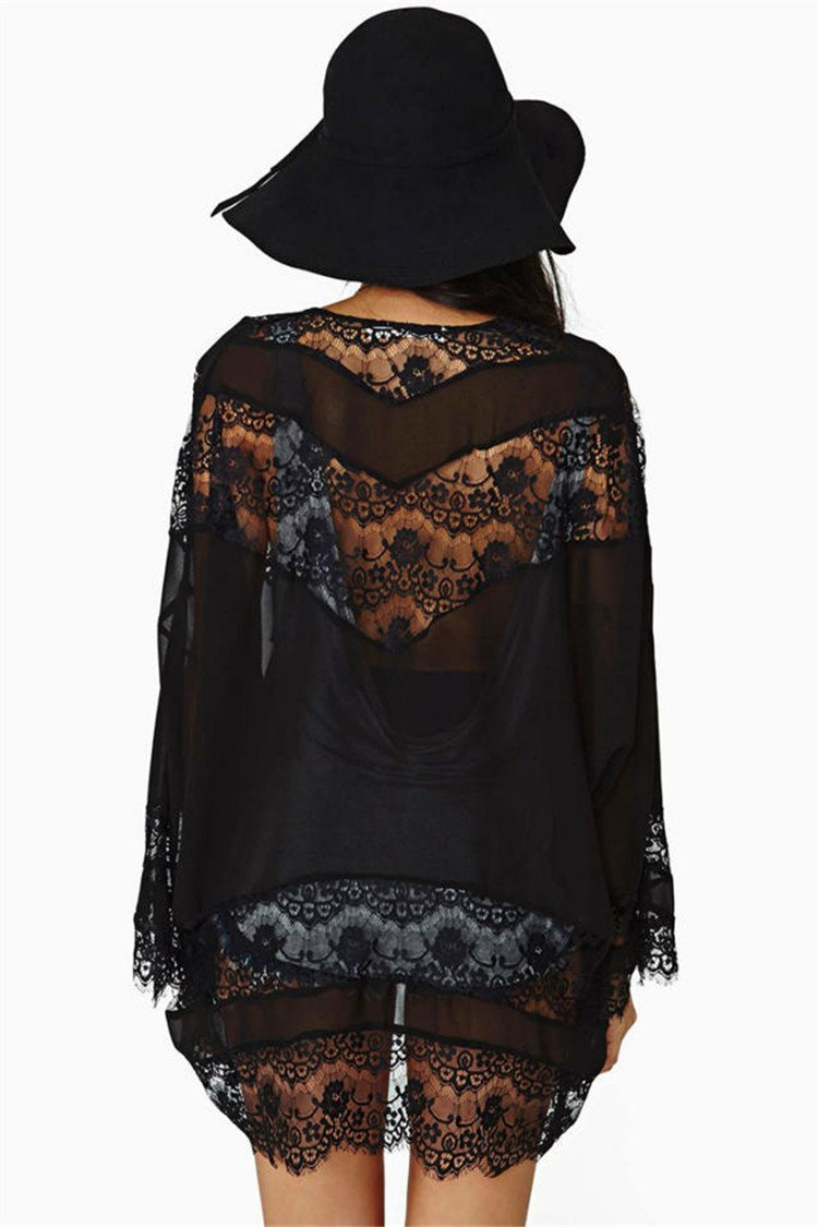 Floral Lace Cardigan - Style Me Love