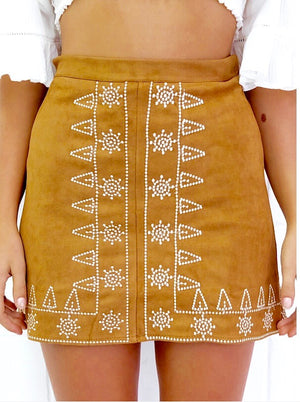 Bohemian Embroidery Skirt - Style Me Love